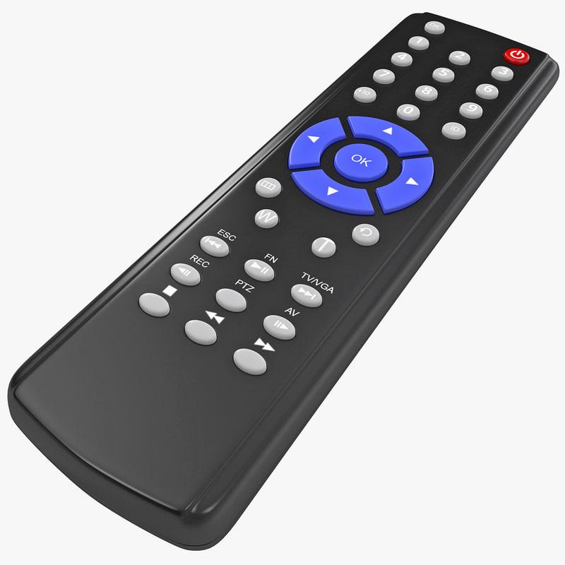 3ds max tv remote