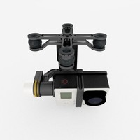 Zenmuse H3-2D Gimbal with GoPro Hero 3 black+