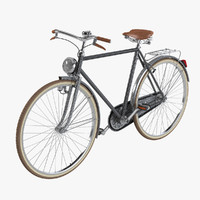 greca bicycle piero fornasetti 3d model
