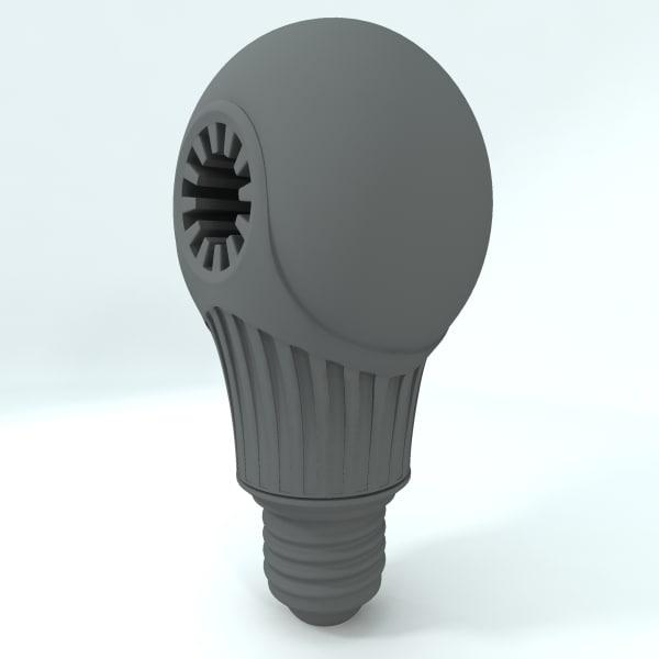 led light 3d obj