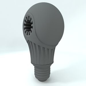 led light 3d obj