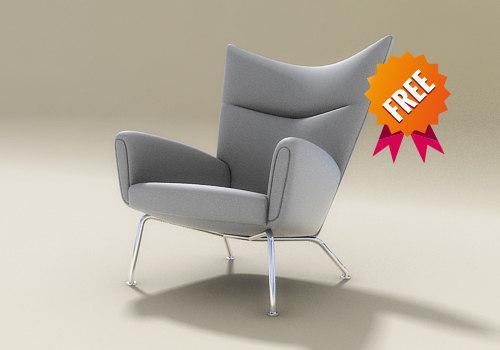 chair obj free