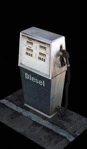 gasoline vintage 3d model