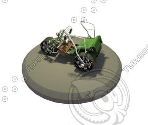 3d model mountain buggy