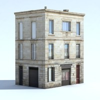 building exterior bake shadows 3d max