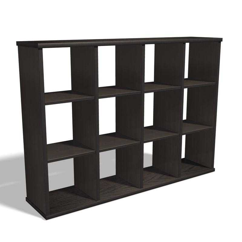 simple shelf 3d model