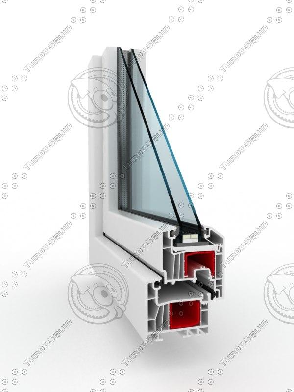3d window pvc