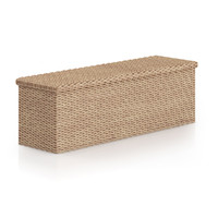 3d model wicker chest