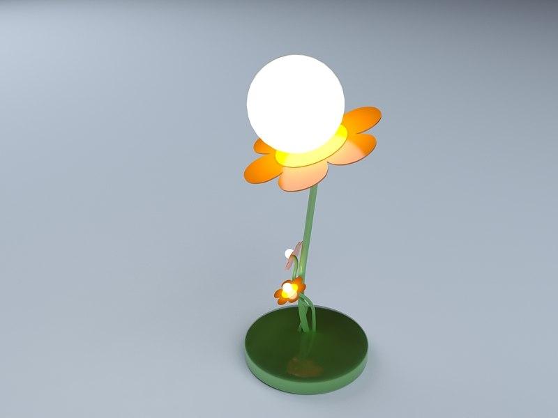 3d model light lump