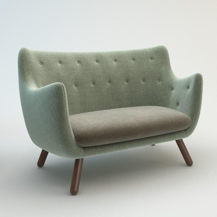 poet sofa 3d max