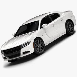 3d 2015 dodge charger interior model