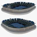 Tennis Stadium 3D models