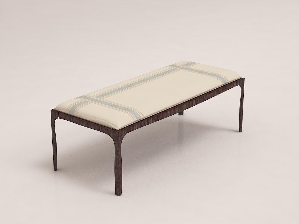 barbara barry slipper bench max