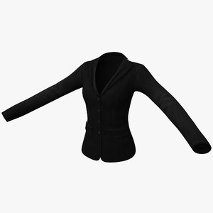 3d female jacket 2