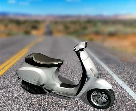 free scooter motorcycle 3d model