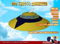 Koji Kabuto & TFO (OVT-1) animated