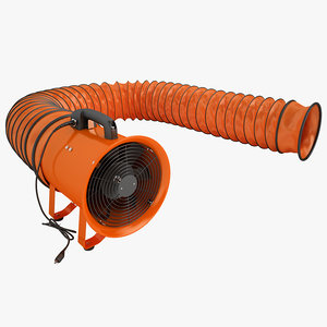 3ds max portable ventilator vent