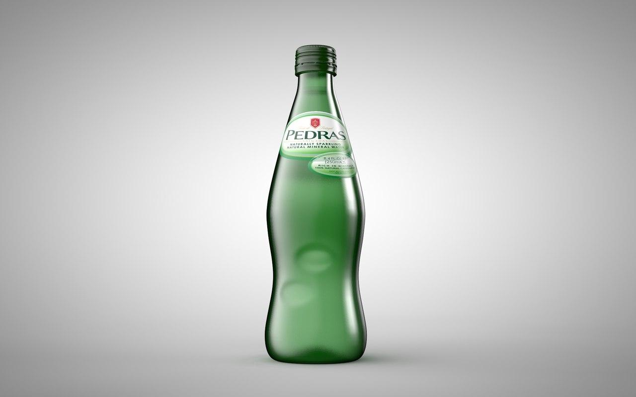 3d portuguese water bottle das model