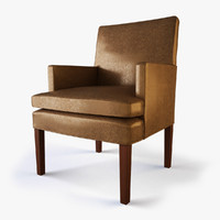 3d max designer host dining chair
