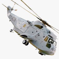 sikorsky ch-124a sea king 3d max