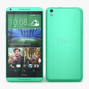 3ds max htc desire 816 green