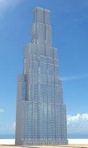 3d skyscraper nr 13