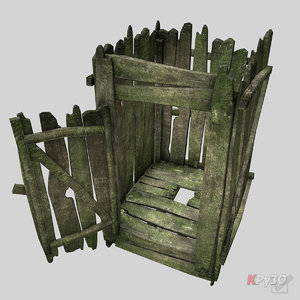 3d brutal toilet model