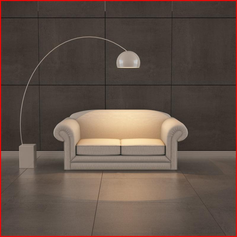 3d nice sofa 11