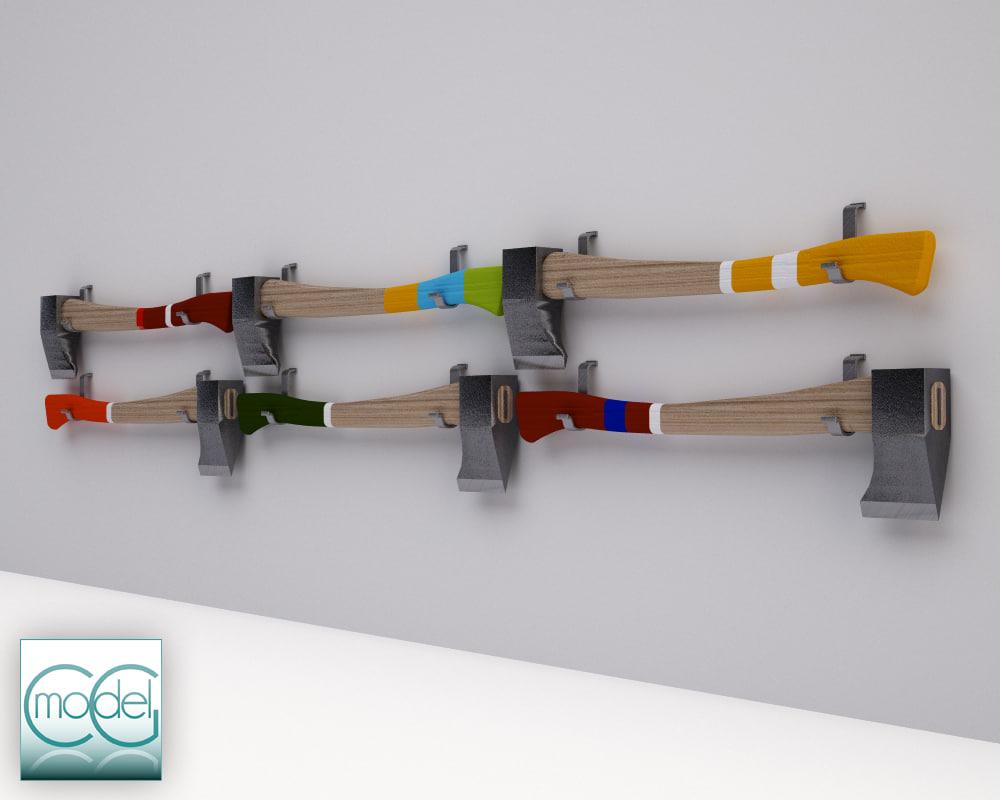 3d model hatchet