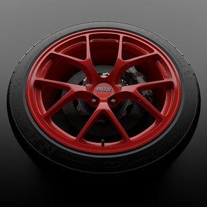 maya red bbs fi wheel