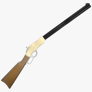 3d henry rifle model