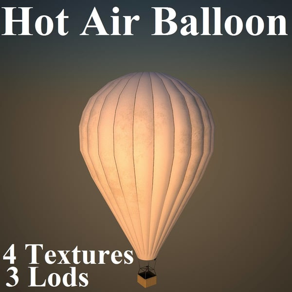 3ds max hot air