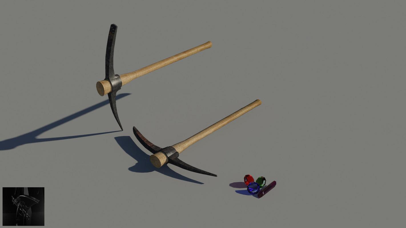 tool rock gem 3d model