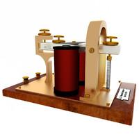 3d telegraph sounder model