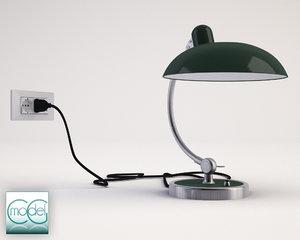 lamp kaiser idell 3d 3ds