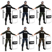 Riot Police PACK 1