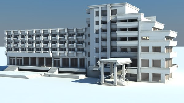 Free Hotel 3D Models for Download | TurboSquid
