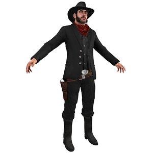 max wild west cowboy