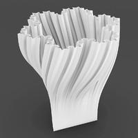 geometric vase 3d model