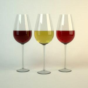 glass glassware 3ds