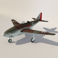 3ds max ww ii messerschmitt