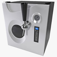 beer dispenser avanti 3d 3ds