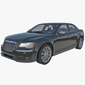 3d model chrysler 300s 2014