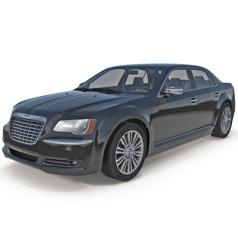 3d Model Chrysler 300s 2014