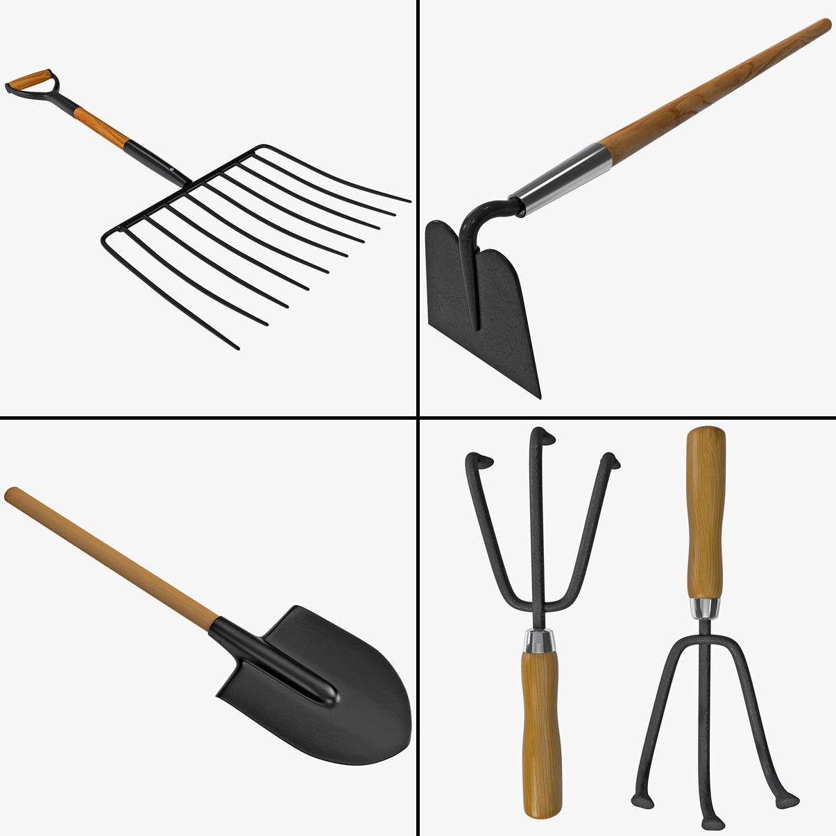 garden tool 3ds
