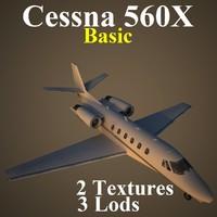 cessna x aab 3d model