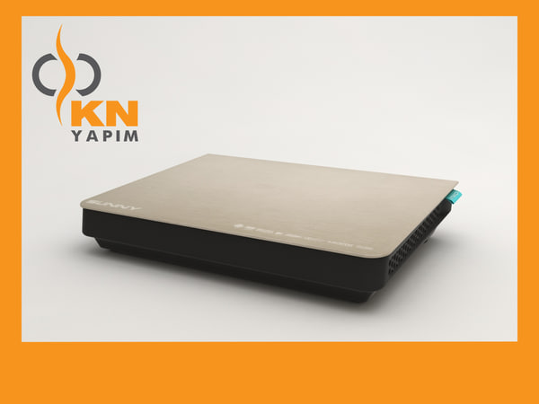 satellite receiver 3d model