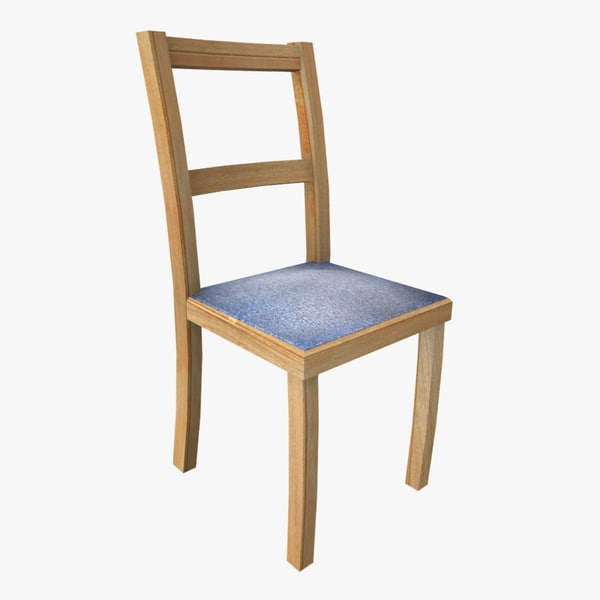 3ds denim chair