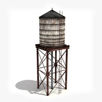 low- water tower