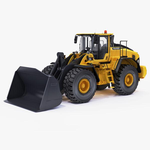 3d wheel loader l220h model